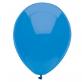 Blue Bright Latex Balloons 6 Pack